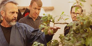 Bonsai Seminar mit Werner Busch